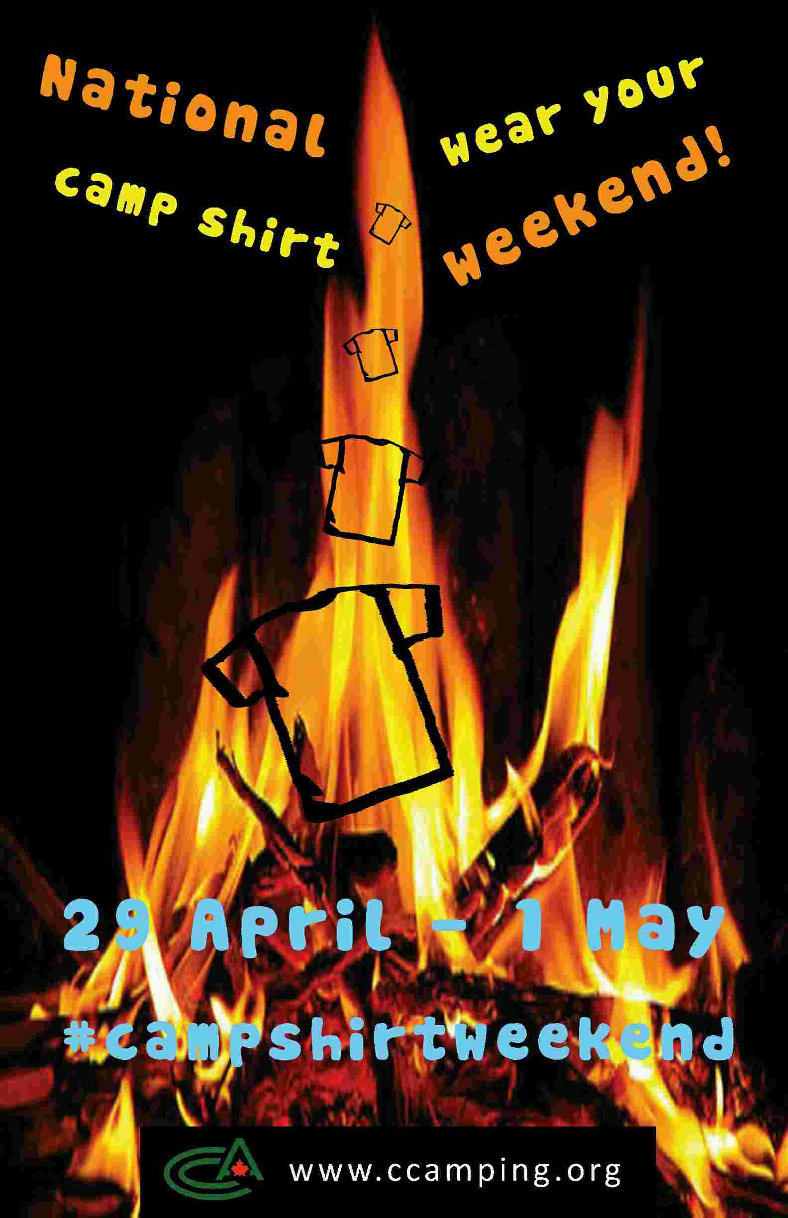 cf0ed2ee2c1b ... staff and encourage them to wear their camp clothing on the weekend of  April 29 – May 1
