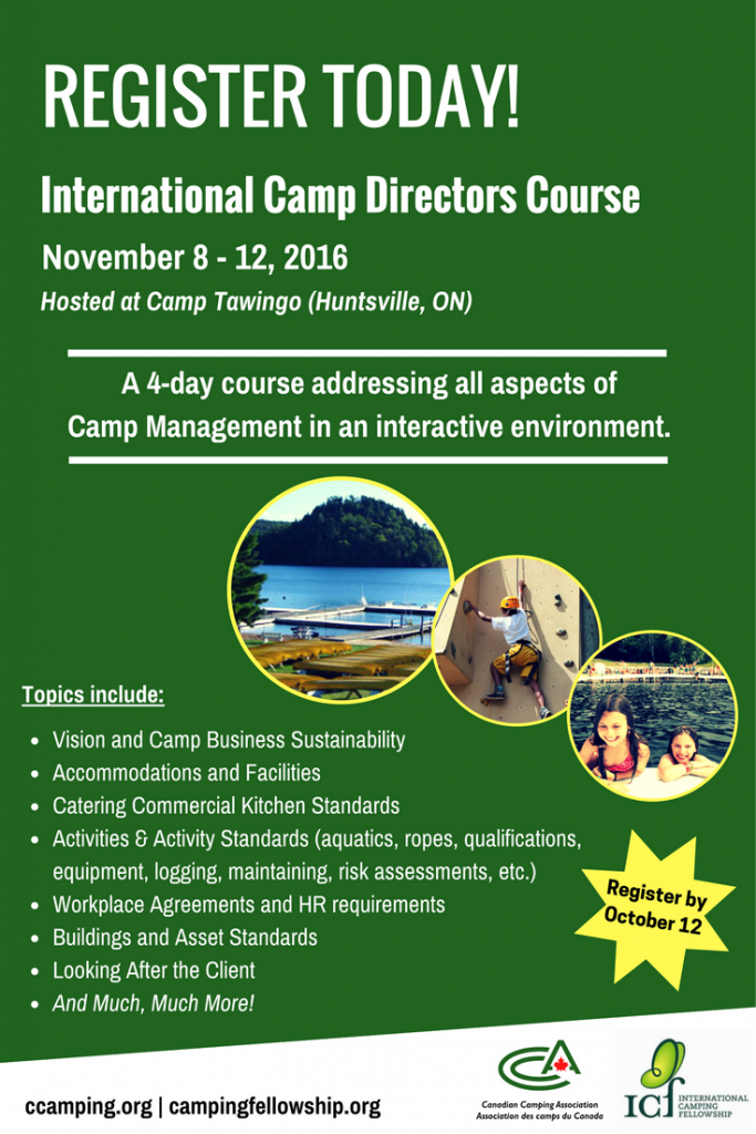 http://www.ccamping.org/camp-directors/international-camp-directors-course/
